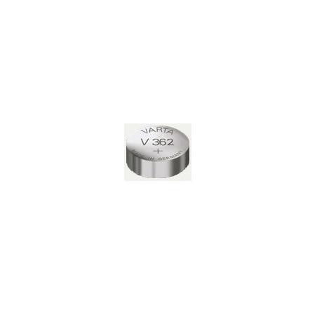 V362 - pile de Montre oxyde d'argent SR58 - 362 101 111 - unitaire / boite de 10