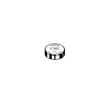 V361 - pile de Montre oxyde d'argent SR58 - 361 101 111 - unitaire / boite de 10