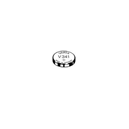 V341 - pile de Montre  Varta oxyde d'argent - 341 101 111 - unitaire / boite de 10