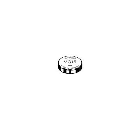 V315 - pile de Montre Varta oxyde d'argent SR67 - 315 101 111 - unitaire / boite de 10