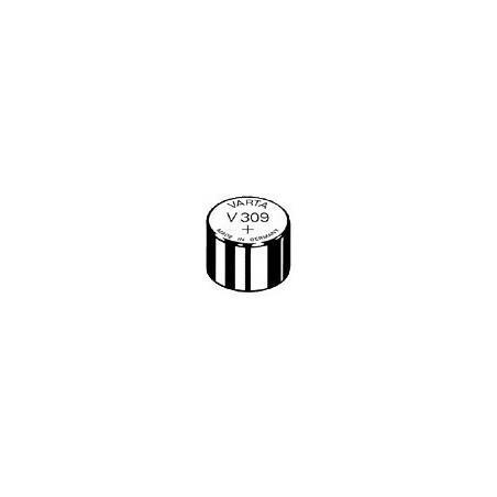 V309 - pile de Montre Varta oxyde d'argent SR48 - 309 101 111 - unitaire / boite de 10