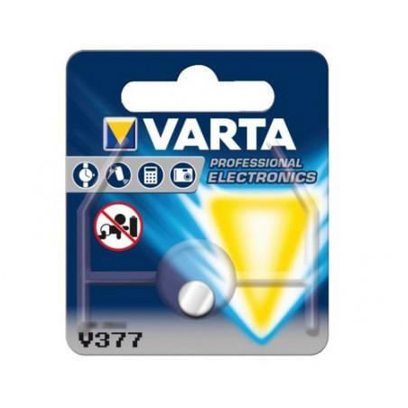 Pile de Montre Varta oxyde d'argent SR66 - 377 Blister - unitaire / boite de 10