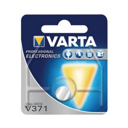 Pile de Montre Varta oxyde d'argent SR60 - 371 Blister - unitaire / boite de 10