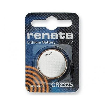 Pile lithium CR2325 Renata- blister unitaire