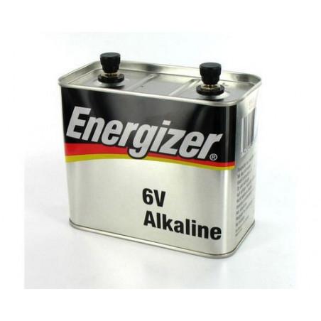 Pile 4LR25/2 Energizer alcaline metal LR820 6v - 521