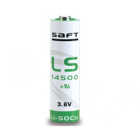 Pile lithium LS14500 SAFT - SL760 - format AA 3.6V 2450mah