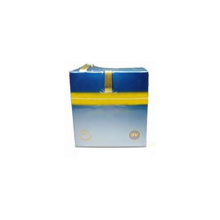 Pile 6LR20 avec languettes 9V 15 Ah Fanal type 440 compatible 6R25L