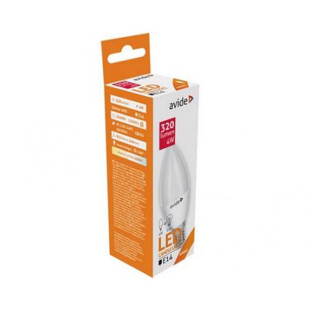 Ampoule AVIDE LED BOUGIE -  E14 - 4W - 320Lm - 4000/4500K - 285121