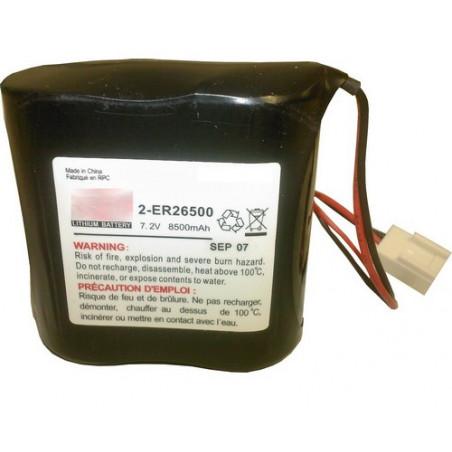 Montage alarme 2R14 - 2ER26500 7.2V 8.5Ah ref 4772 - BATLI06