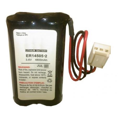 Montage alarme 2LS14500 parallele 3.6V 4.8Ah ref5233 - BATLI05