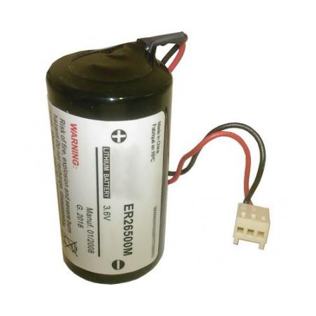 Montage alarme R14 -  1ER26500 3.6V 8.5Ah ref 5236 LSH14 - BATLI01