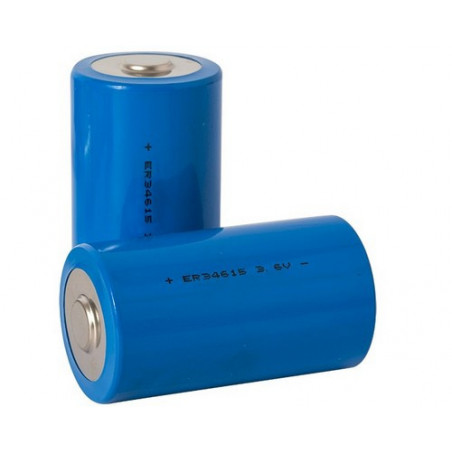 Pile lithium spiralee format R20 3.6V - ER34615 - LSH20