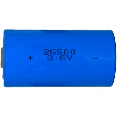 Pile lithium bobine format C/R14 - 3.6V 8.5Ah - ER26500  LS26500