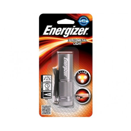 Torche Energizer 3 LED Metal Light 3xAAA non incluses 638842