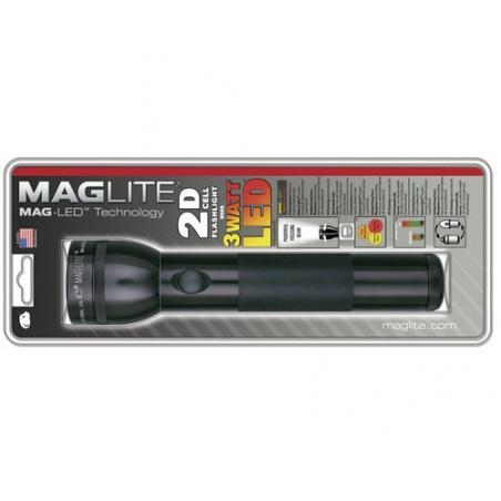 Torche MAGLED Noir  - 2LR20  non incluses - ST2D016