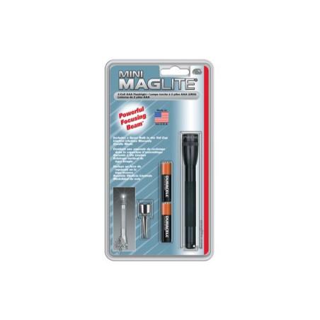 Torche Maglite  super mini en Blister - 2 Pile LR03 - M3A