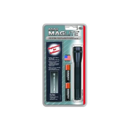 Torche Maglite MiniMag R6 en Blister + holster - 2 Pile LR6 - M2A01H