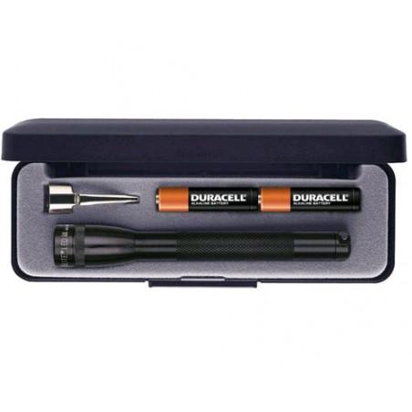 Torche MAGLED Super Mini 2xAAA incl noir en coffret + clip stylo