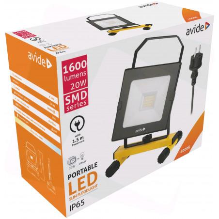 Projecteur LED filaire 20W