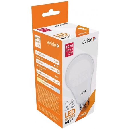 Ampoule AVIDE LED Globe PLAS G60 E27 - 12W - 1070lm - 282458