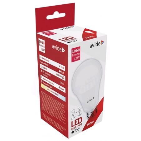 Ampoule AVIDE LED Globe PLAS G60 E27 - 12W - 1060lm - 282441