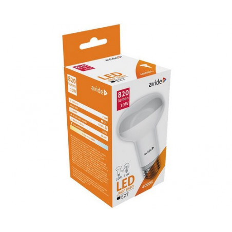 Ampoule AVIDE LED Spot R63 E27 - 10W - 820lm - 4000K ALAB286586