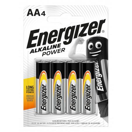 Pile Alcaline  Energizer LR06 Alkaline Power (ex-Basic) - Blister de 4