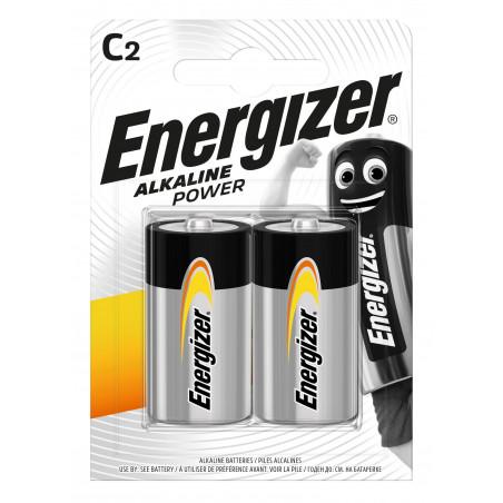 Pile Alcaline Energizer LR14 Alkaline Power (ex-Basic) - Blister de 2