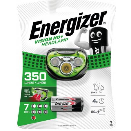 Torche Frontale Energizer Vision HD+ Headlight 5 Leds - 3xAAA Incl - E300280600