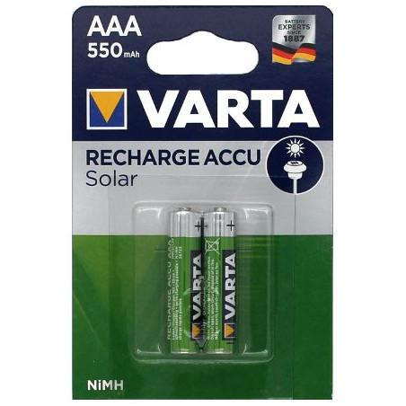 HR3 - Accu AAA 550mAh Solar  - blister de 2 - 56733 101 402