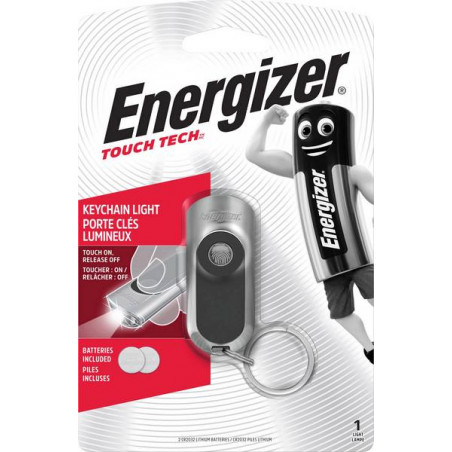 Torche Energizer Porte Cle TOUCH LED KEYCHAIN 2xCR2032 incl. - LTENER424225