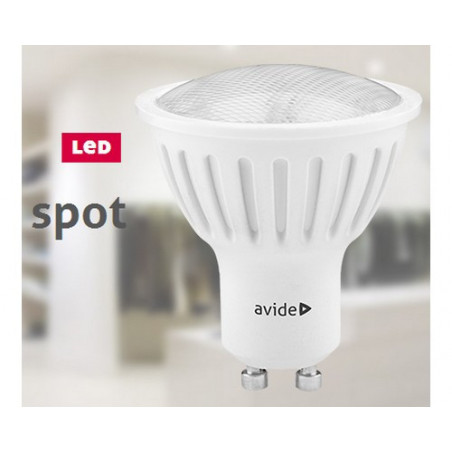 Ampoule AVIDE LED Spot Plas GU10 3W - 110° - 200lm - 282885 F / 282878 C