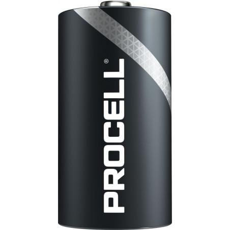 (Pack) Pile industrielle Duracell Procell LR20/MN1300 - unitaire par boite de 10
