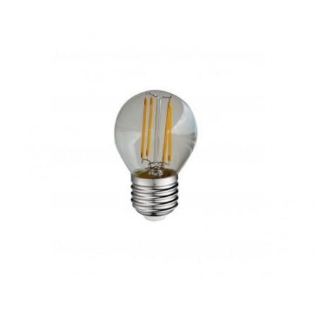Ampoule LED COB filament E27 Globe  G45- 4W  6000K 380lm - Vision EL
