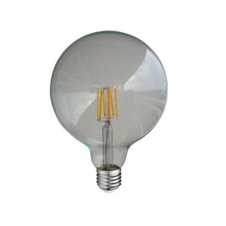Ampoule LED COB Filament E27 Globe G125 - 8W - 6000K 880lm Claire - 7156