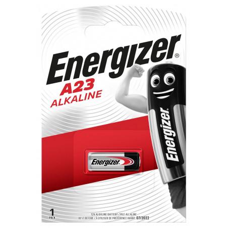 Pile Alcaline 23A Energizer 12V - Blister de 1
