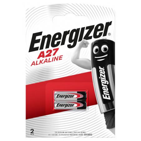 Pile electronique alcaline 27A Energizer 12V - blister de 2 -