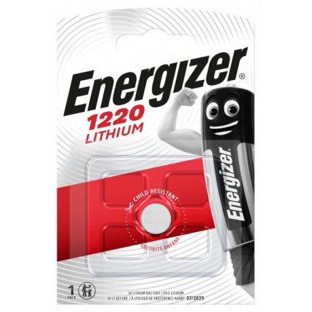 Pile electronique CR1220 Energizer  blister de 1