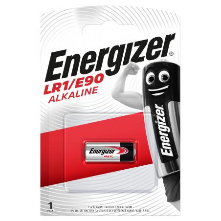 Pile electronique LR01 - Energizer blister de 1