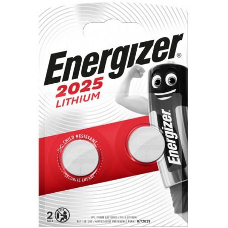 Pile electronique CR2025 Energizer blister de 2