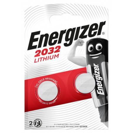 Pile electronique CR2032 - ENERGIZER blister de 2