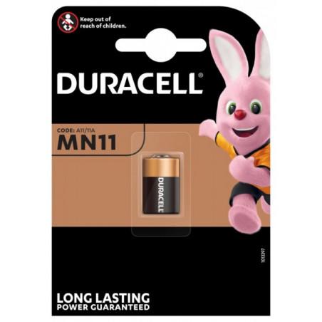 Pile alcaline 11A Duracell - blister unitaire