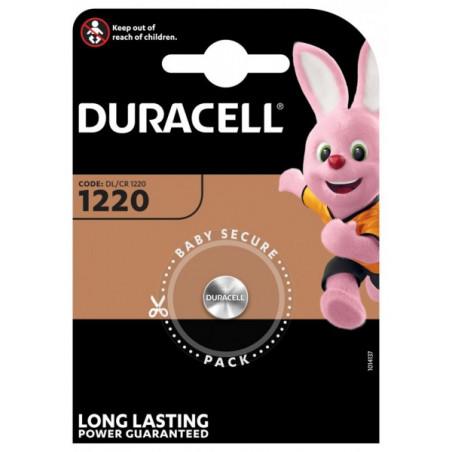Pile electronique CR1220 Duracell blister de 1
