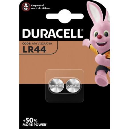 Pile Bouton LR44/13GA/A76 - Blister de 2 - Duracell